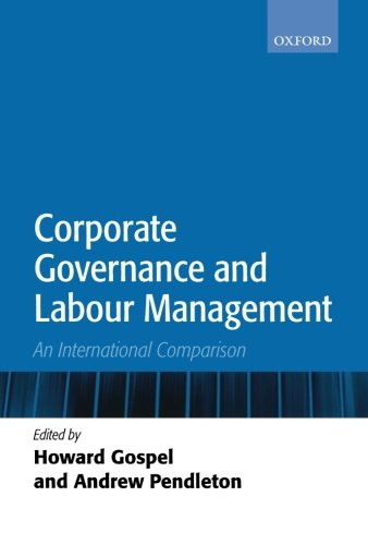 Corporate Governance Convergence in International Perspective